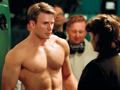 Captain America Movie Promotes Steroid Use